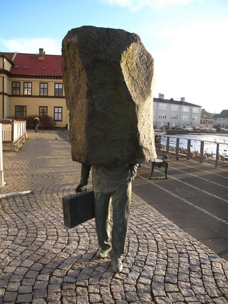Неизвестный чиновник. Рейкьявик, Исландия.