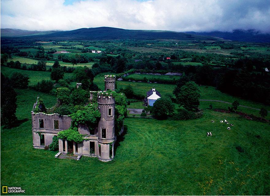 Забытый особняк, Ирландия.