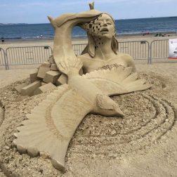 фигуры их песка