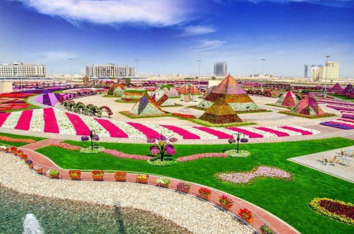 Дубай Миракл Гарден, ОАЭ