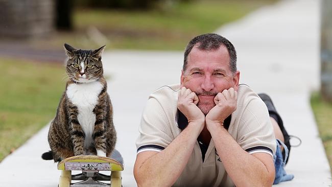 Диджа — уникальная кошка-скейтбордист рис 3