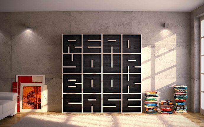 10 идей креативных книжных полок для вашей библиотеки рис 10