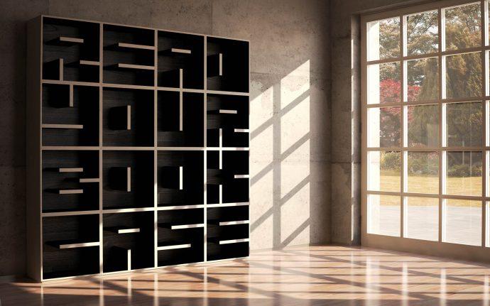 10 идей креативных книжных полок для вашей библиотеки рис 9