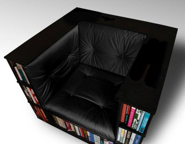 10 идей креативных книжных полок для вашей библиотеки рис 7