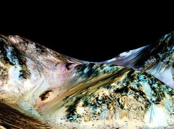 Сенсационное заявление от NASA: 'На марсе обнаружена вода'.