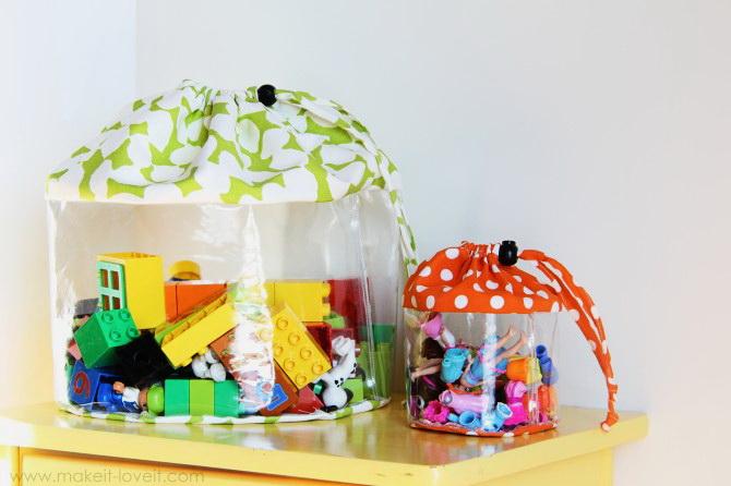 В чем хранить детские игрушки? Сделай своими руками! рис 22