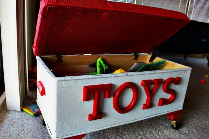 В чем хранить детские игрушки? Сделай своими руками! рис 10