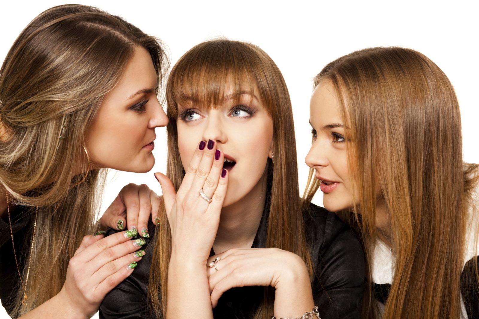 Девушки сплетничают картинка