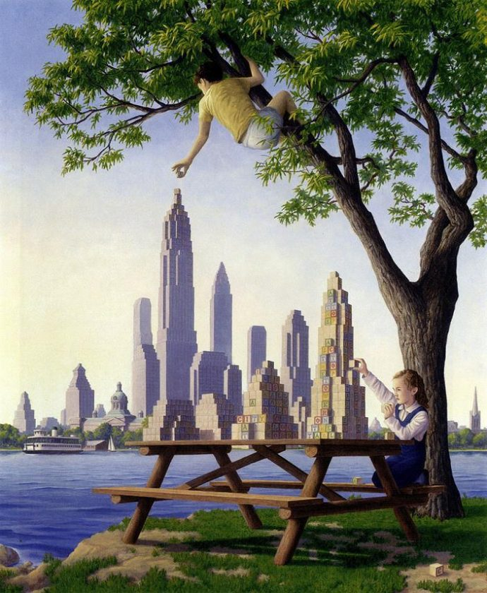 Роберт Гонсалвес, Башни на столе