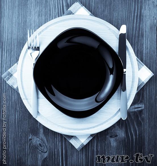 Чёрная посуда