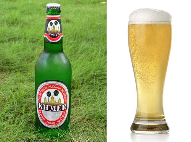 Камбоджийское пиво Khmer