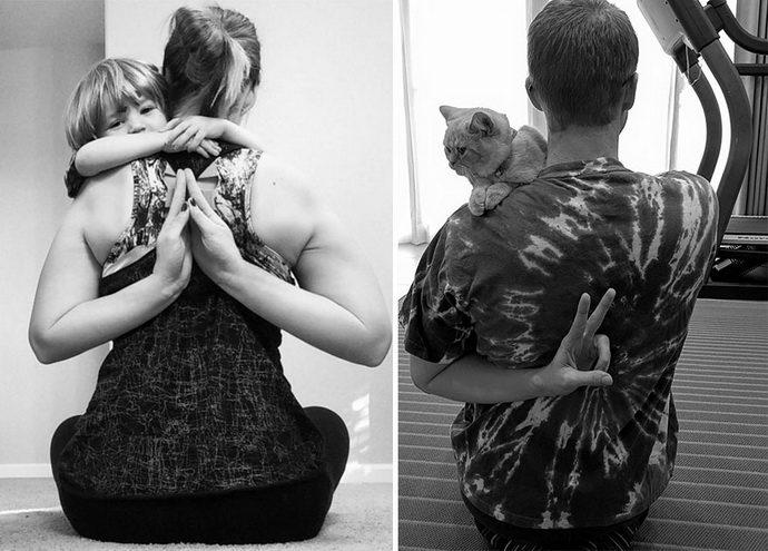 фото-пародии с котом