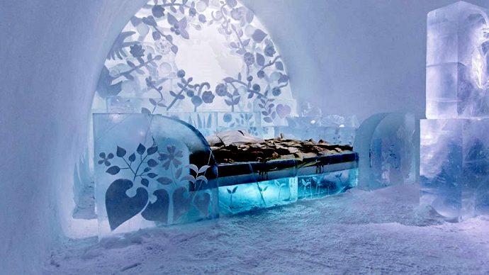 Номер в Icehotel
