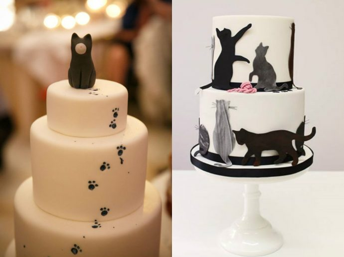 торт с котом