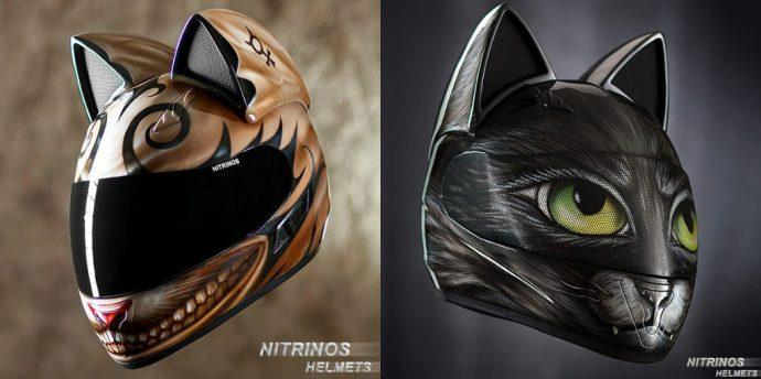 Кото-шлемы