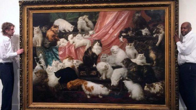 картины котов рис 5
