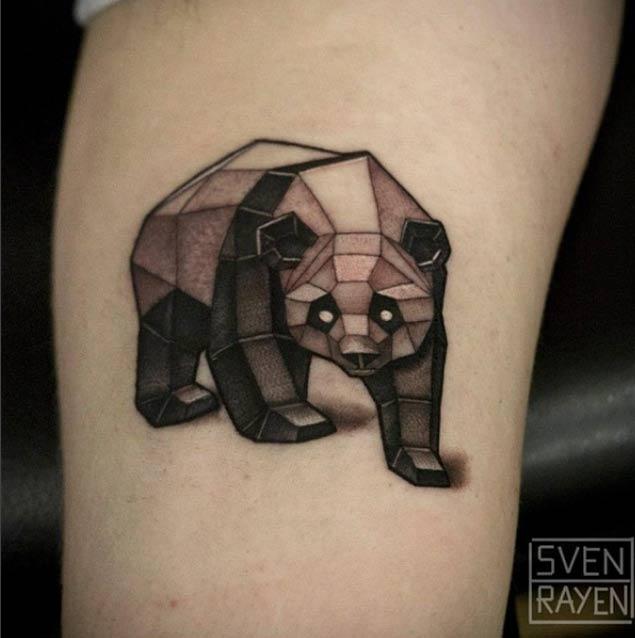 panda tattoos рис 4
