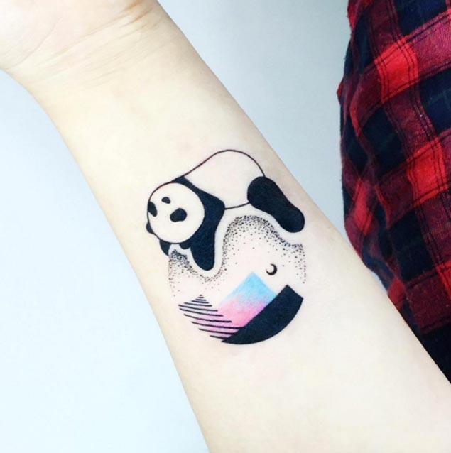 panda tattoos рис 2