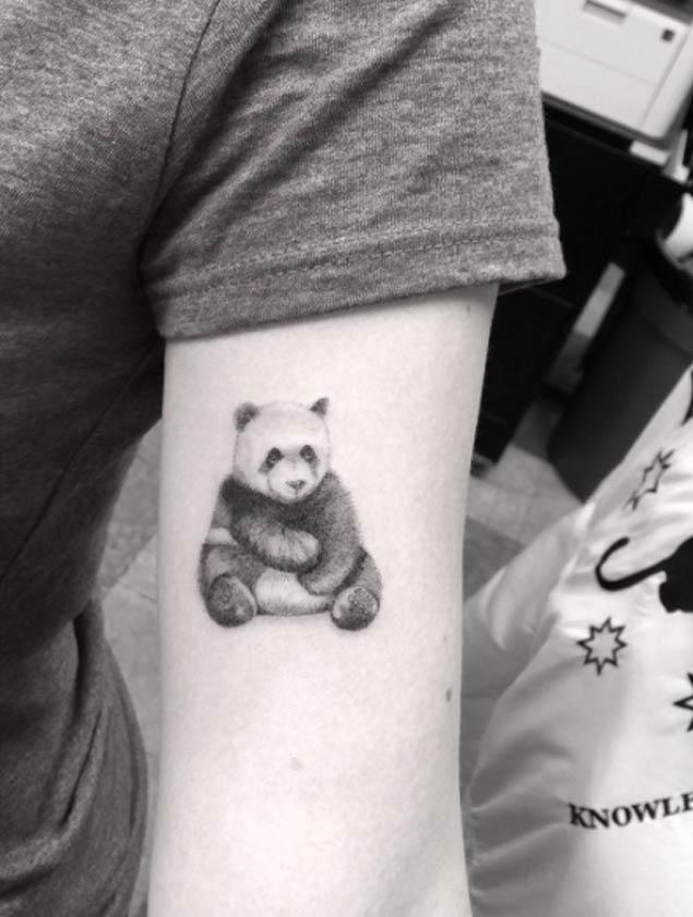 panda tattoos рис 13