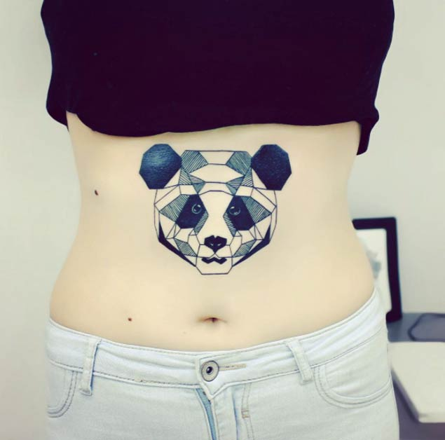 panda tattoos рис 12
