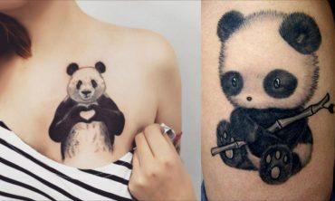 panda tattoos