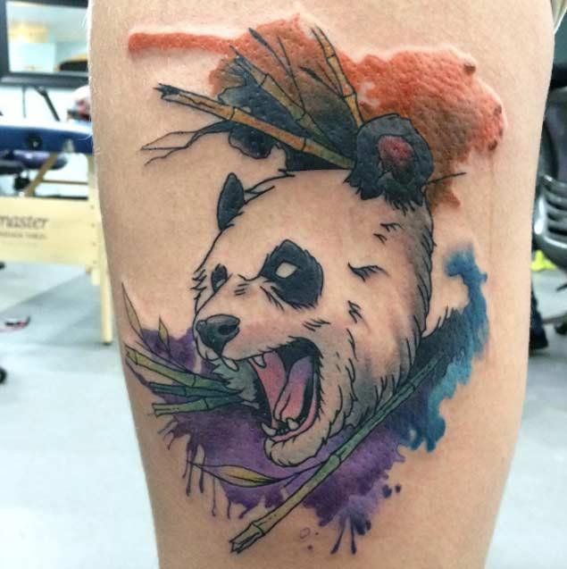 panda tattoos рис 10