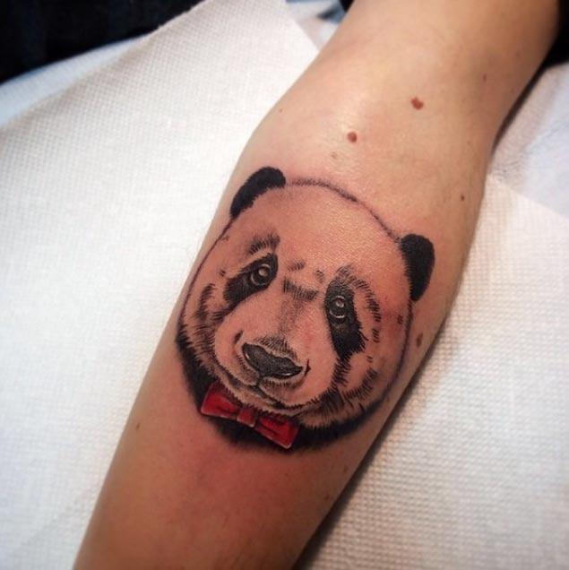 panda tattoos рис 9