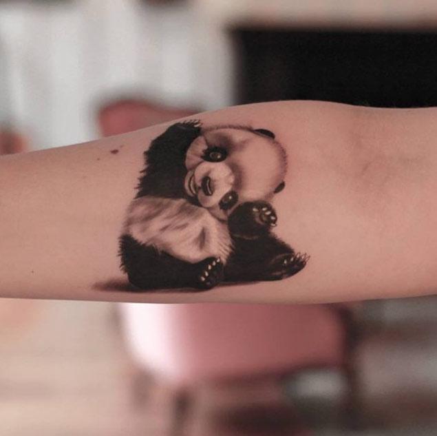 panda tattoos рис 7