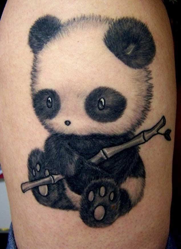 panda tattoos рис 6