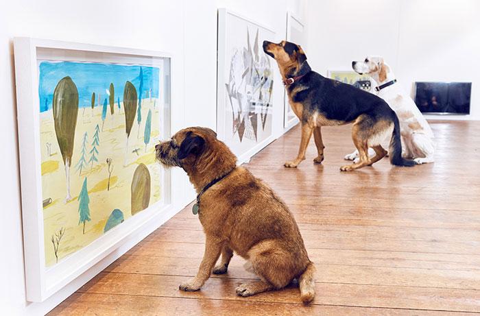world-first-dog-art-exhibition1
