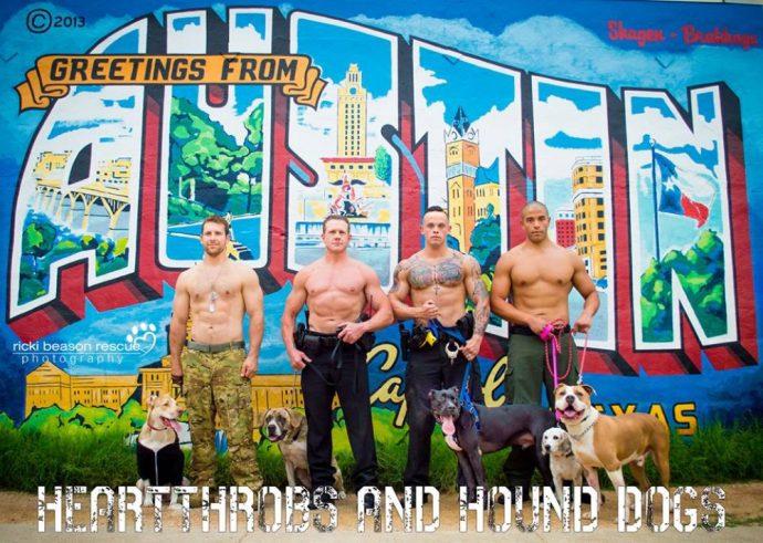 Картинки по запросу Горячие техасские парни разделись ради бездомных собак из приюта