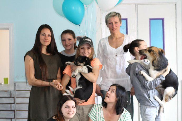 Хрупкие девушки боролись за детскую мечту! Им удалось спасти десятки животных... рис 3