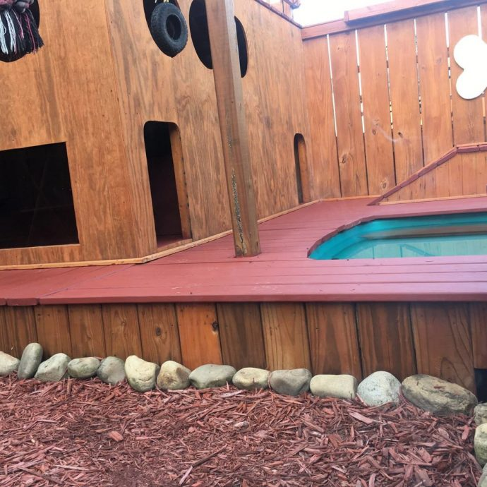 Рай для собак на заднем дворе!) Парень создал нечто невероятное для своих питомцев! рис 4