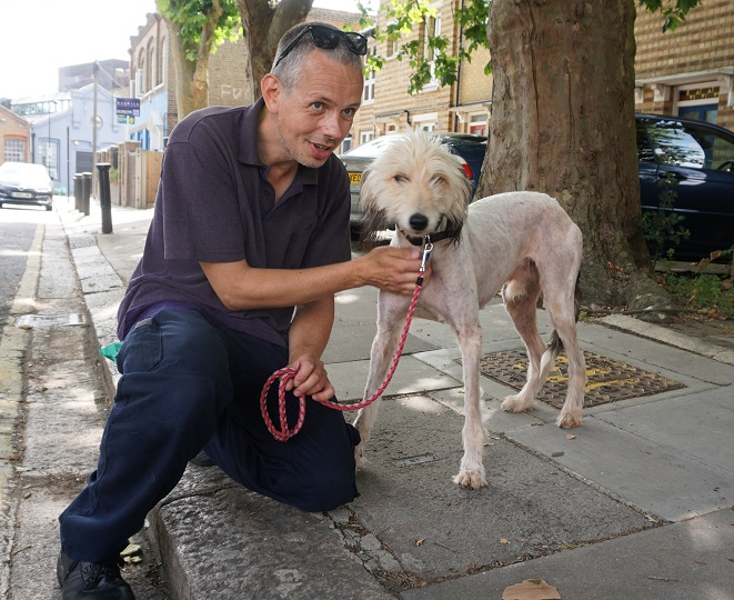 Mayhew-Kennels-Assistant-Eric-with-Rudy