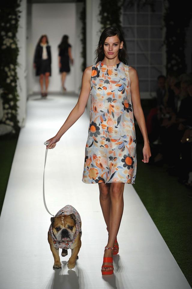 London Fashion Week SS14 - Mulberry