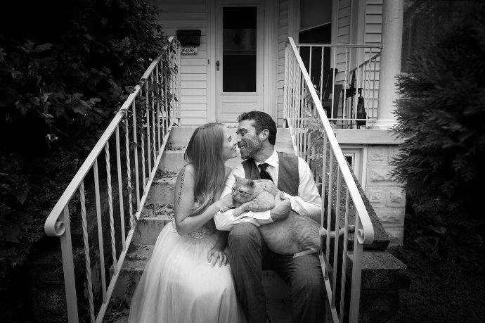 Fat Cat Wedding PicsCredit: Kristi Odom