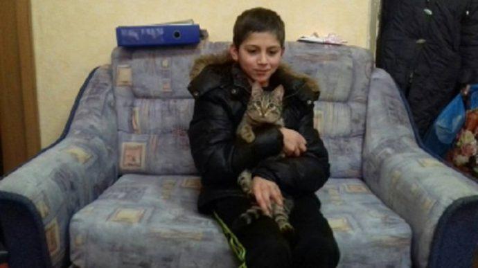 Бездомный кот спас подростка! Калининградские потеряшки - школьник Руслан и кот Спаситель - рассказали о своих приключениях рис 2