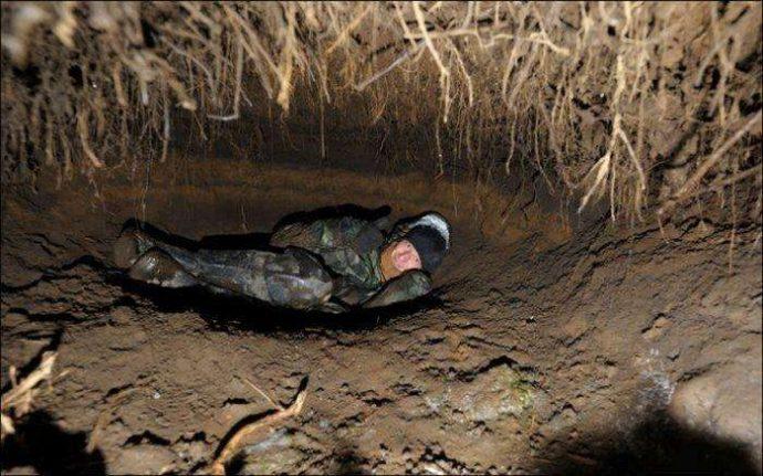 А вы знаете, как выглядит медвежья берлога ИЗНУТРИ? Охотник нашёл лаз и решил проверить... рис 3