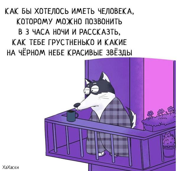 """""""Хаски - это ты!"""" 100% юмора, где каждый узнает свою жизнь. + История о настоящем хаски и котятах! рис 7"""