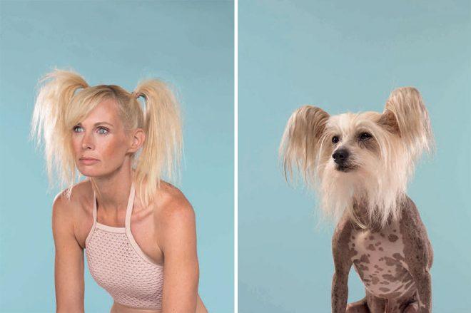 Блондинка и ее пес