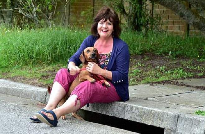 Женщина и ее собака
