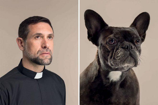 Пес похож на хозяина