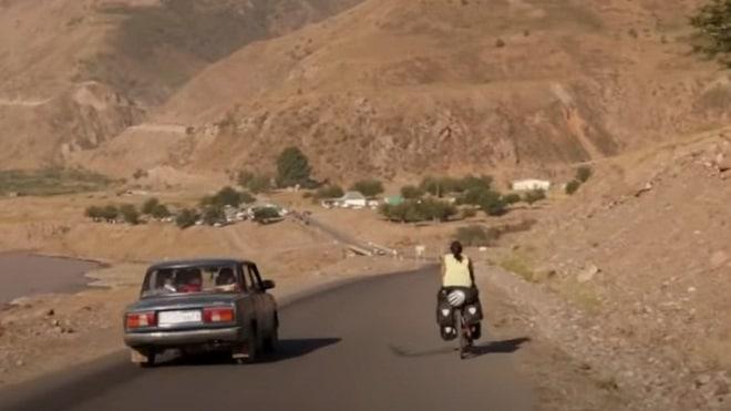 Парень на мотоцикле