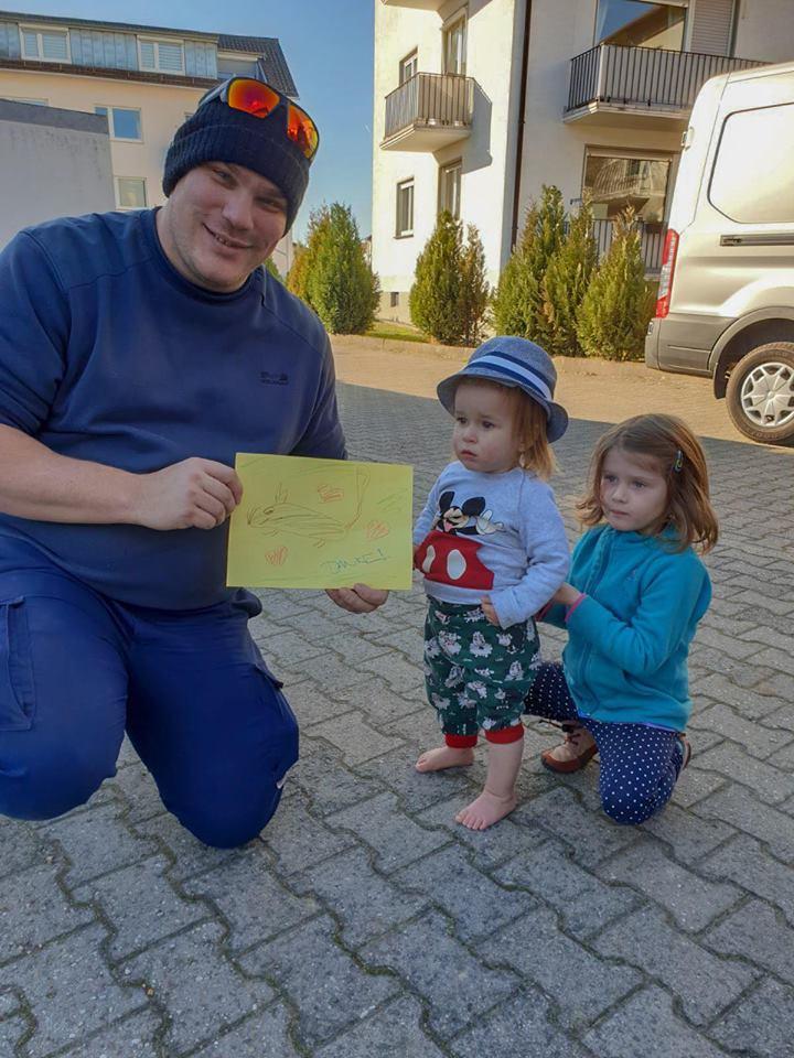 спасатель и дети