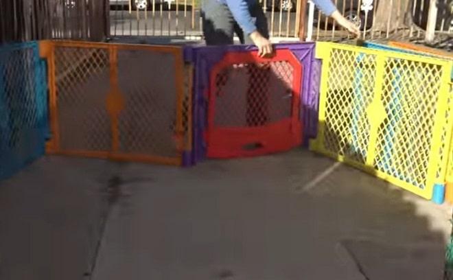 Баррикады из решеток