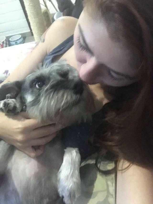 девушка с собакой рис 2