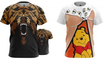футболки с принтами