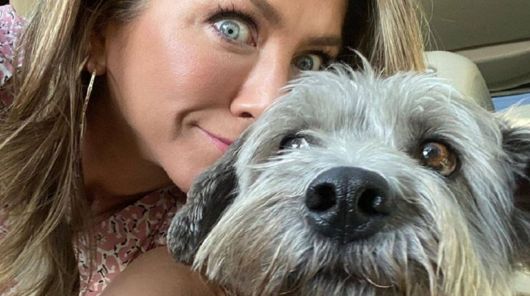 cute doggy and Jennifer